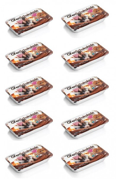 Ofenschokolade Vollmilch 10er Pack